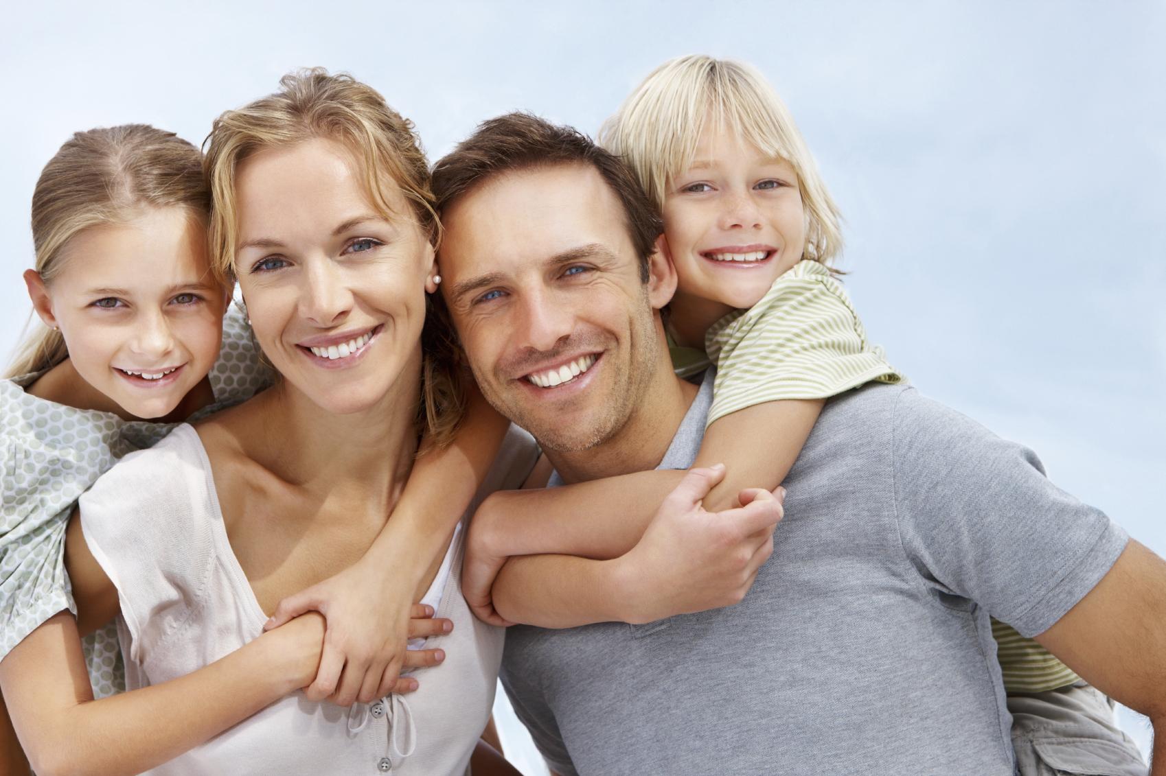 Картинки красивой семье