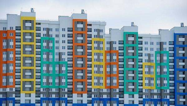 Строительство нового района Академический в Екатеринбурге