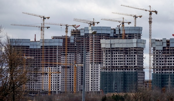 Residential housing in Moscow